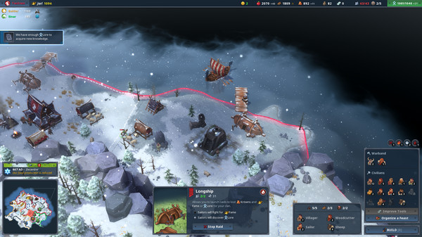 Simulation - [PLAZA] Northgard + Update v1.1.8909 1110