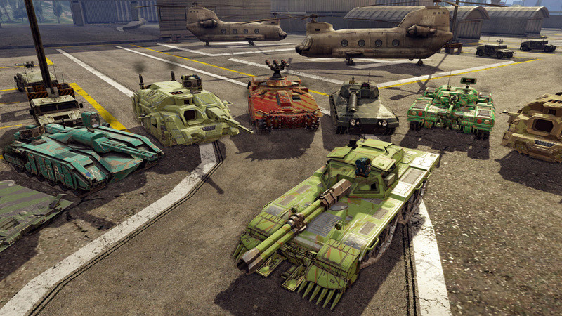 Simulation - [PLAZA] Infinite Tanks PROPER 113