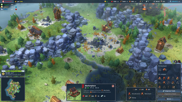 Simulation - [PLAZA] Northgard + Update v1.1.8909 1210