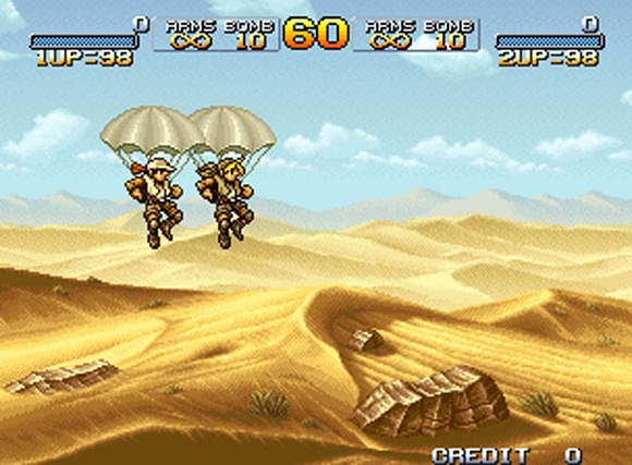 Shooter - [Rip] Metal Slug Collection Metal-11