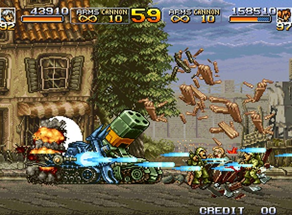 Shooter - [Rip] Metal Slug Collection Metal-12