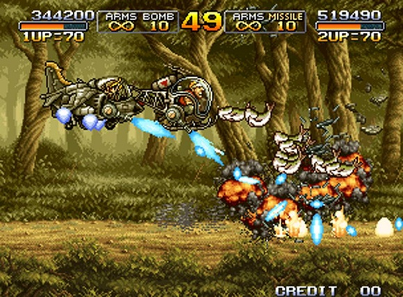 Shooter - [Rip] Metal Slug Collection Metal-13