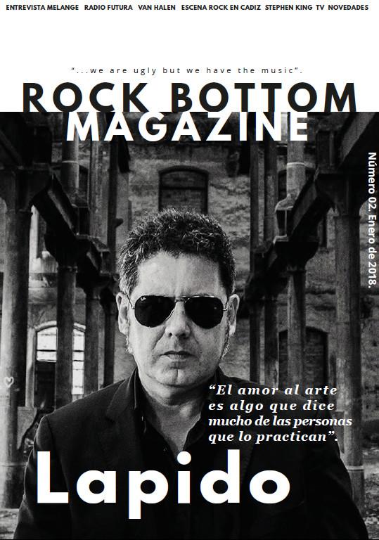 Rock Bottom Magazine. Portad11