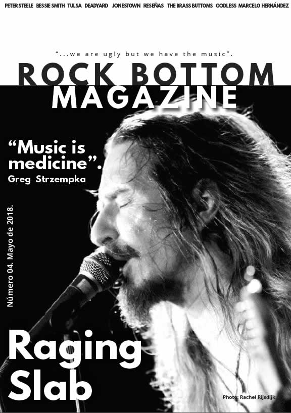 Rock Bottom Magazine Mayo 2018. Portad12