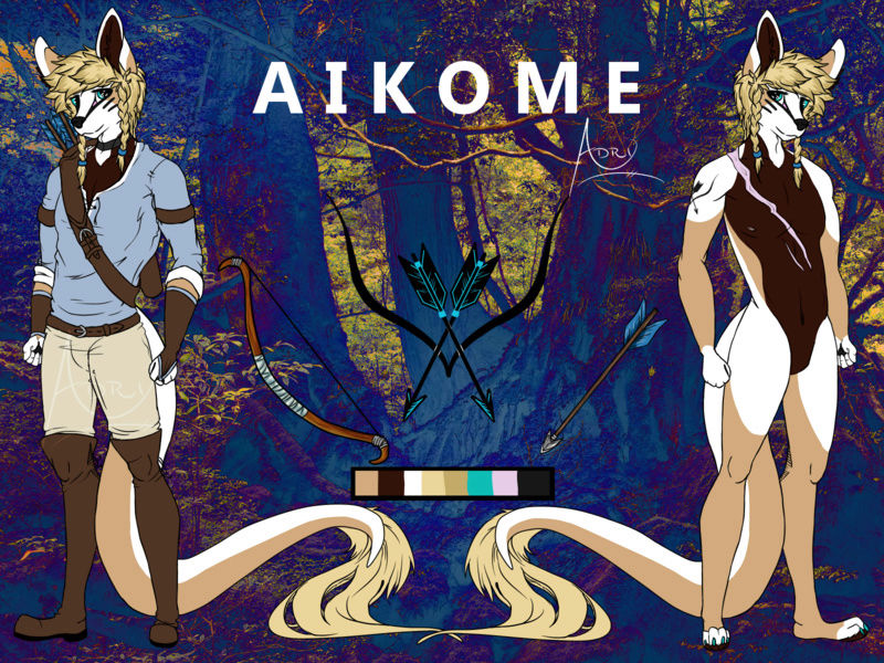 A nerd's art? What?  Aikome10