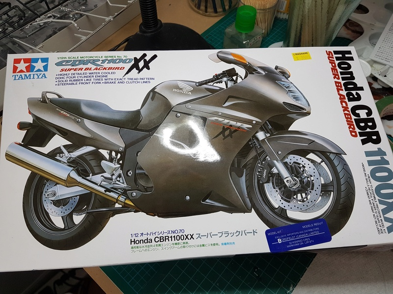 Honda CBR 1100XX 20180221