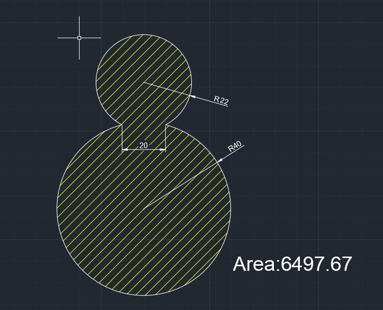 AutoCAD教學 幾何圖形習題03 Izia12