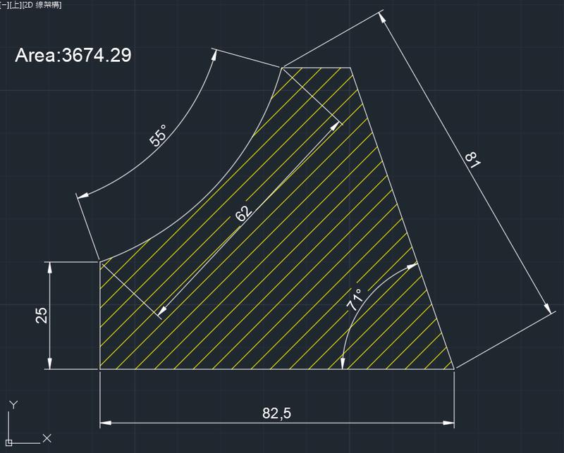 AutoCAD教學 幾何圖形習題04 Izia13