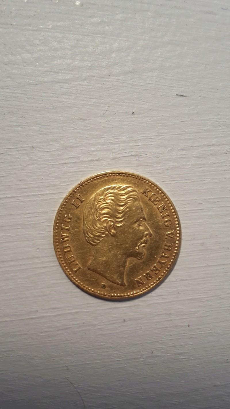 Moneda oro 5 marcos alemanes 1877. Tasación 20180114