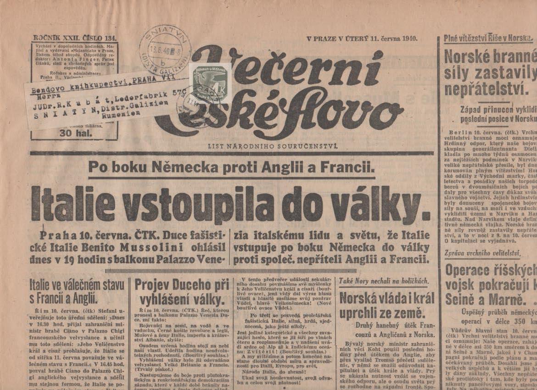 Zeitungsmarken Böhmen & Mähren Scan-225