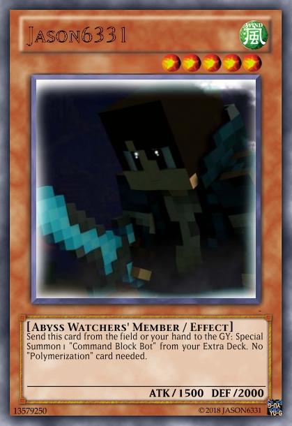 Abyss Watchers & RWBY Decks Jason610