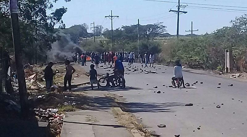 Militares tienen sitiada Choluteca y disparan contra la gente indefensa Protes10