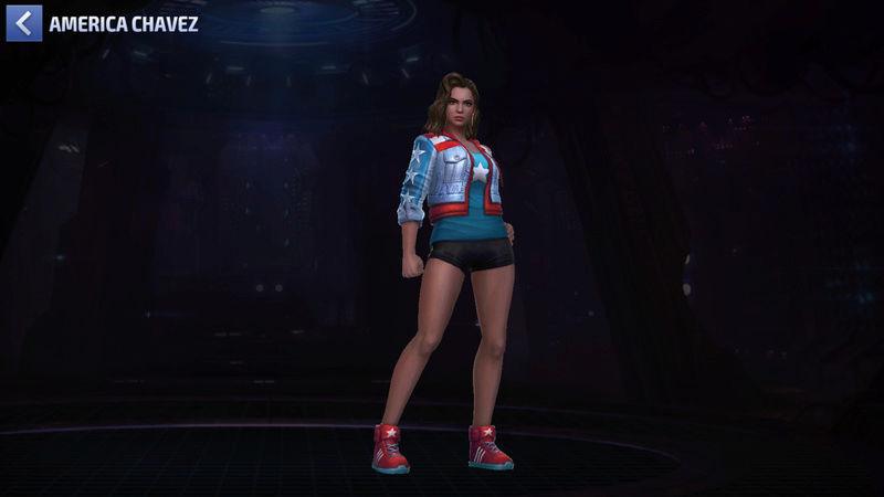 America Chavez Super-Héros Scree102
