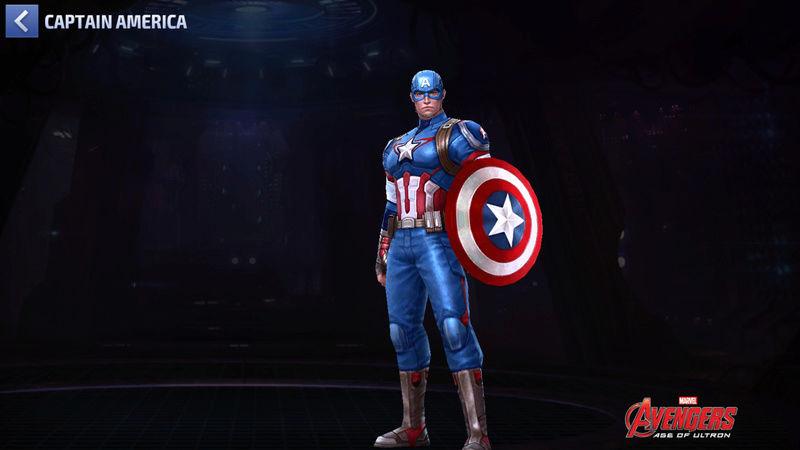 Captaine America Super-Héros Scree104