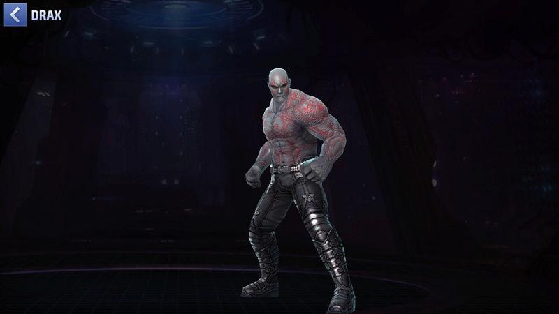 Drax Le Destructeur Super-Héros Scree106