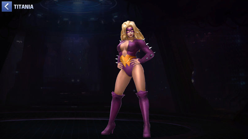 Titania Super Vilain Scree120
