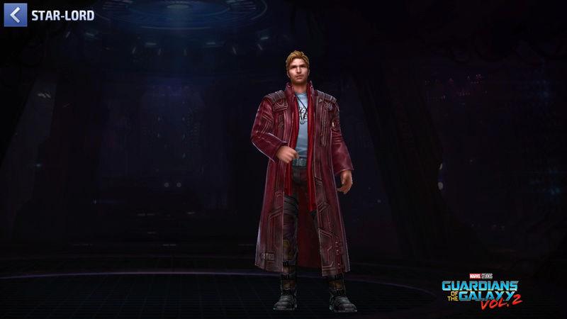 Star-Lord Super-Héros Scree132