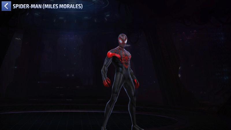 Spiderman (Miles Morales) Super-Héros Scree150