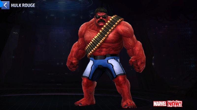 Hulk Rouge  Super Vilain Screen59