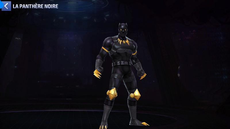 Panthère Noire Super-Héros Screen64
