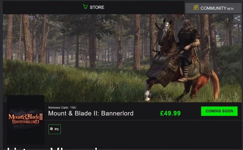 Supuesto Precio de Bannerlord  Precio10