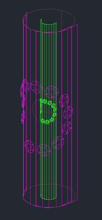 [問題]星星圓形陣列環繞在圓柱有些問題 0110