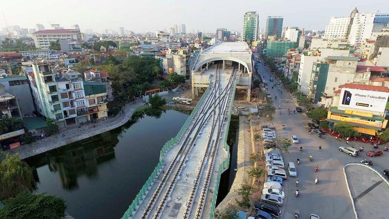 Vinhomes Smart City-Nguyễn Trãi hưởng lợi khi đường sắt trên cao hoạt động Va_try10