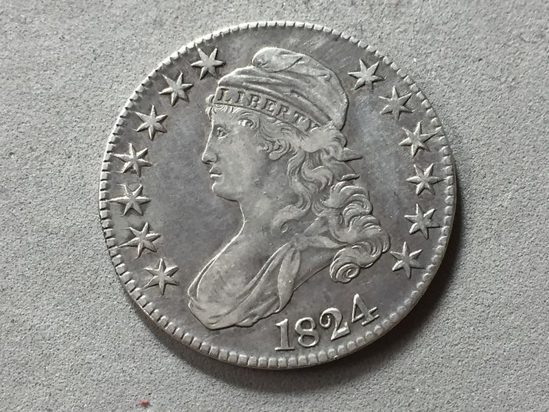 Medio dolar 1824 . Img_6914
