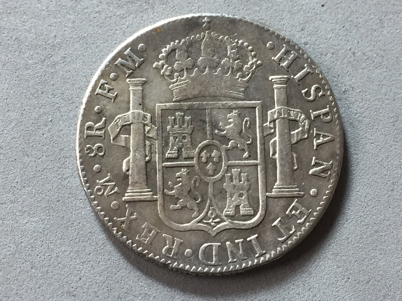 8 reales Carlos III 1789 Mexico Img_6919
