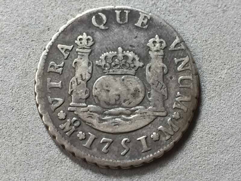 2 reales Ferdin VI 1751 Mexico . Img_6921