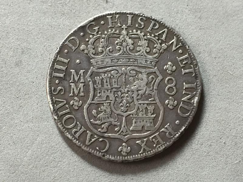 8 reales Carlos III 1761 Mexico Img_6922