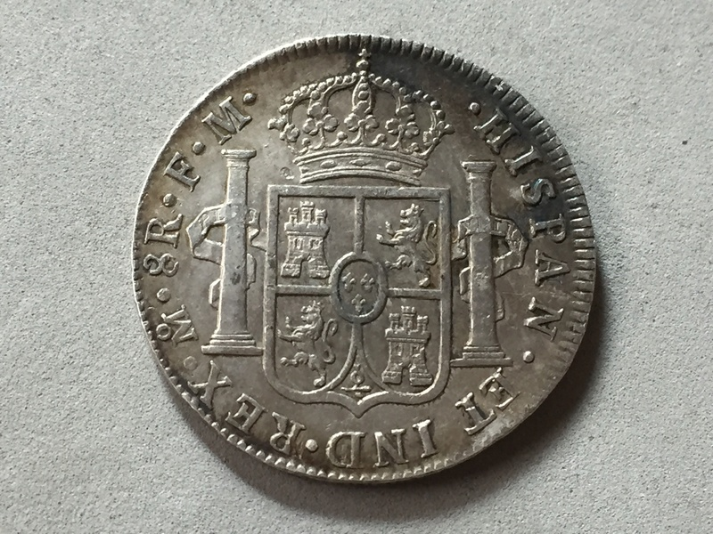 Carlos III 1789 8 reales Mexico Img_6926
