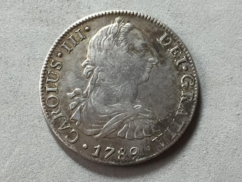 Carlos III 1789 8 reales Mexico Img_6927