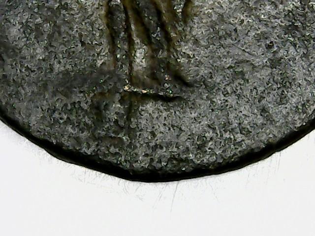 Antoniniano de Galieno. G. Mercurio estante de frente y mirando a izq. Antioch. 2018-028