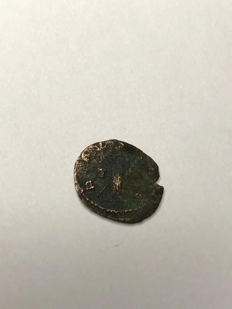 Antoniniano de Galieno. PAX AVG. Pax estante a izq. Roma. Img_5239