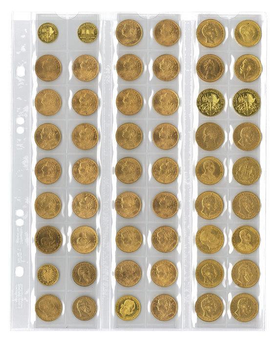 Como archivar o guardar las monedas AE3 AE4 Mu5410
