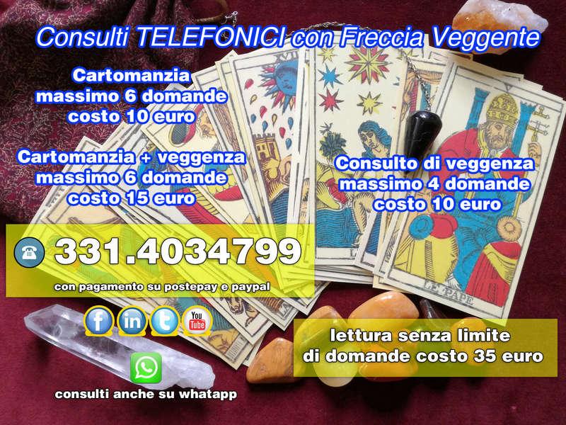 chiama 331.40.34.799 consulti telefonici professionali con freccia veggente Aprile10