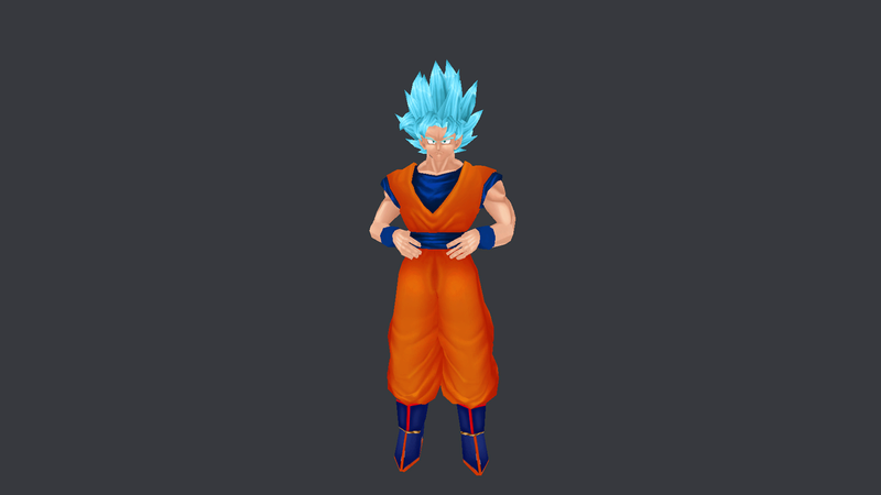 New Goku Model Pack Gasdas10