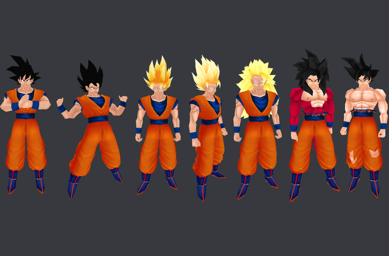 New Goku Model Pack Untitl10