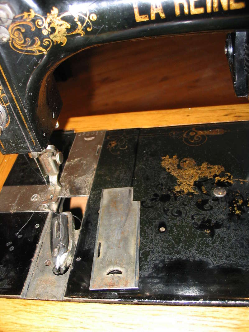 """Info sur une machine """"La Reine"""" Navett10"""