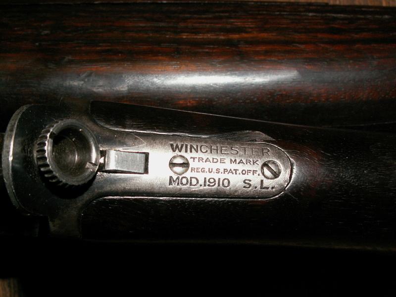 WINCHESTER 1910 SL Pict0021