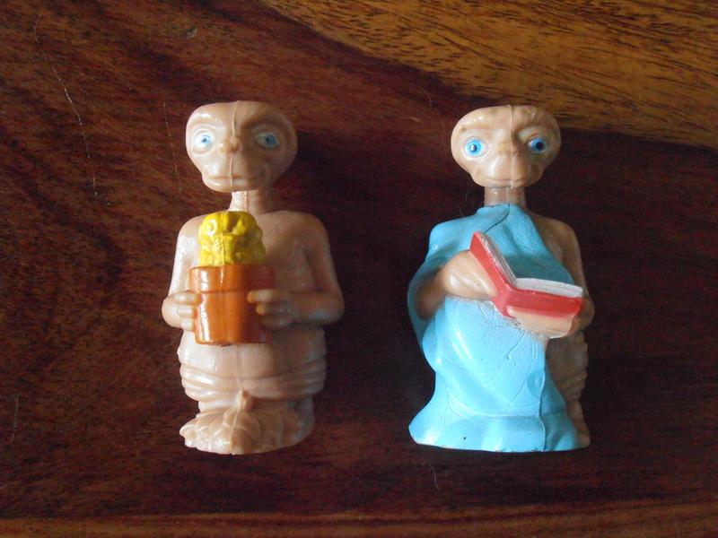 E.T. L'extra-terrestre - Les jouets et produits dérivés 80's P1011811