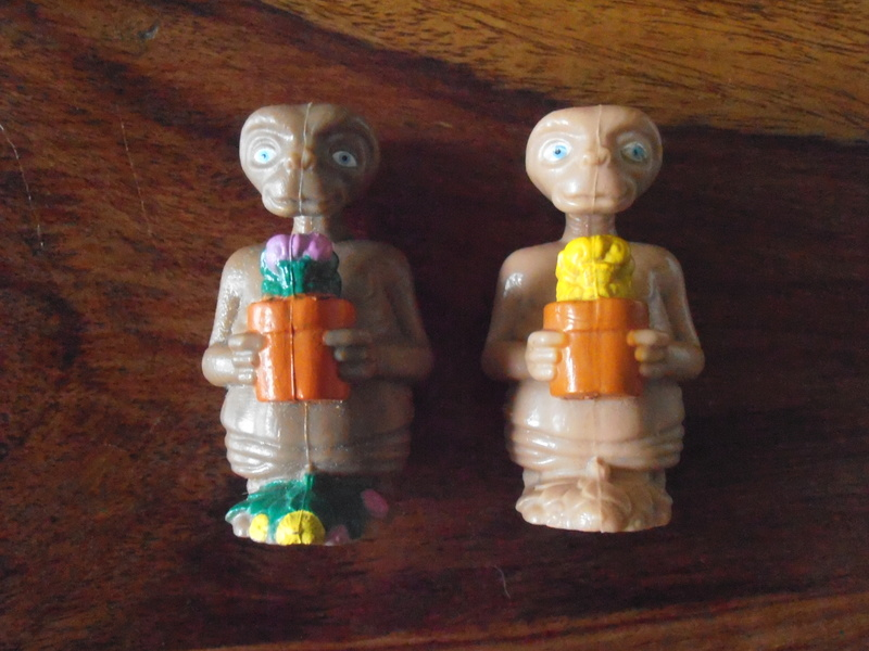 E.T. L'extra-terrestre - Les jouets et produits dérivés 80's P1011812