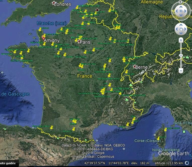 Bruit étrange en Bretagne ( Gourin, Moelan sur mer , Quimper, Huelgoat, Carhaix..  B767610