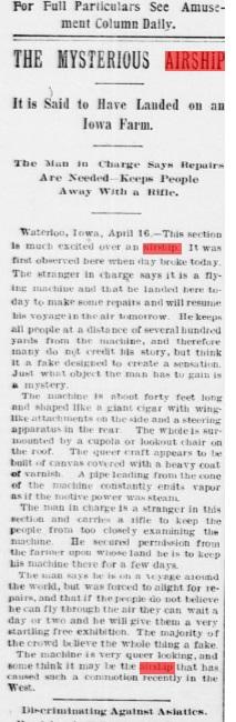 Le crash d'Aurora en 1897 - Page 2 B811