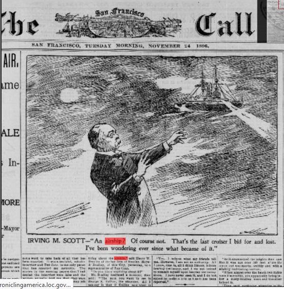 Le crash d'Aurora en 1897 N117010