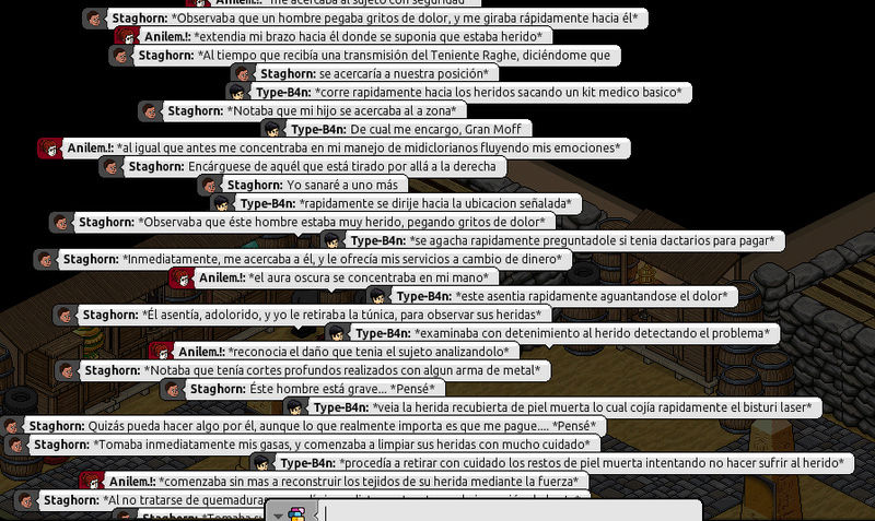 [Roleo de Arkania] Ayuda médica [Apoyo médico] Anilem10