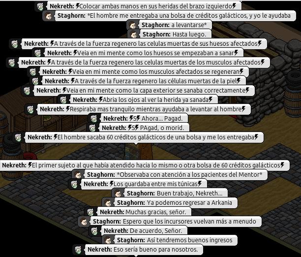 [Roleo de Arkania] Ayuda médica [Apoyo médico] Nekret11
