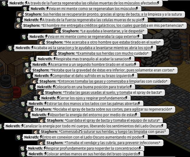 [Roleo de Arkania] Ayuda médica [Apoyo médico] Nekret12