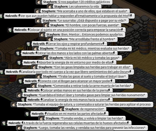 [Roleo de Arkania] Ayuda médica [Apoyo médico] Nekret13